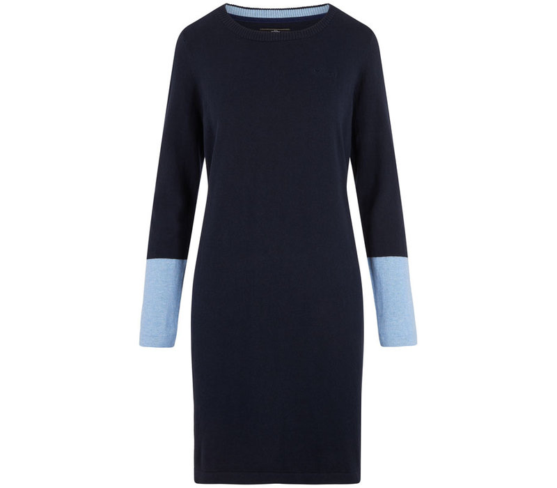 HV Polo jurk Noralin marine blauw