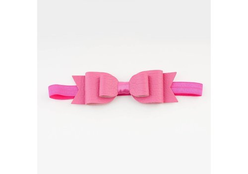 Made for a princess Big Bow Soft Band Bubblegum