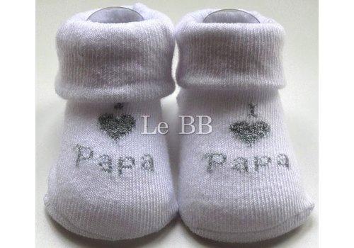 LPC I Love Papa Socks