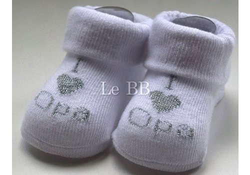 LPC I Love Grandpa Socks