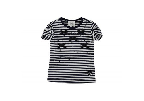 Le Chic T-shirt Blue navy