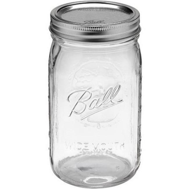 Ball Ball Quart Wide Mouth (32 oz) | 12 stuks