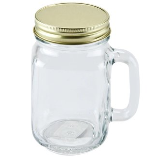 Masonjar Mason Jar regular lid gold