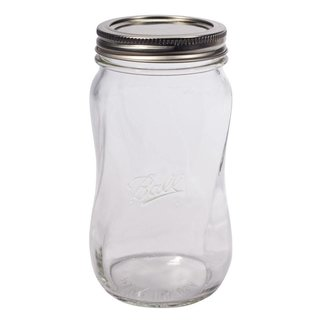 Ball BALL® Elite wide mouth pint  SPIRAL with lids  (28oz) | 4 pieces