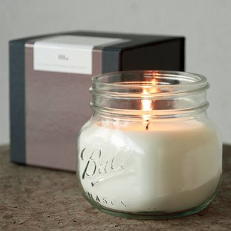Masonjar Label Mason Jar Candle
