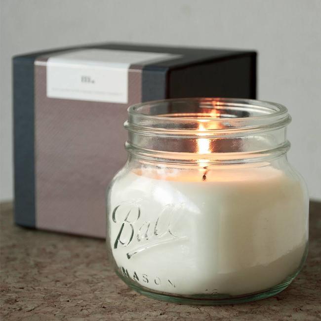 Masonjar Label Mason Jar Candle   Elite   wide mouth   490ml   1pc