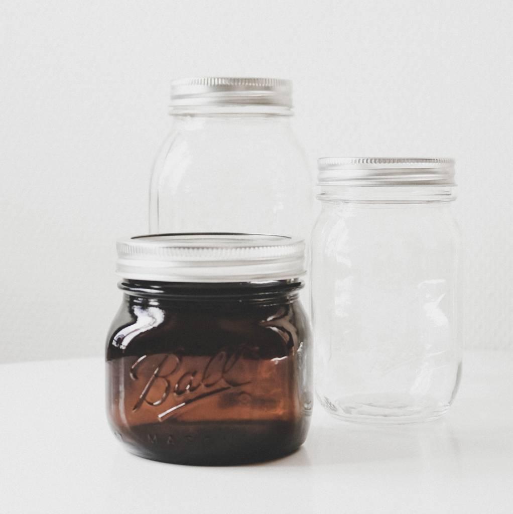 Zeven redenen om te kiezen voor glazen jars