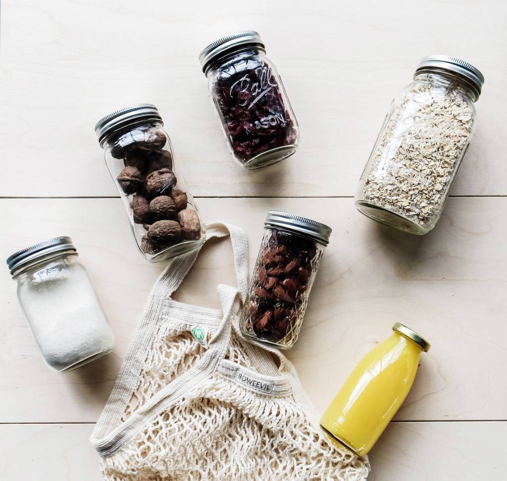 Een Zero Waste Lifestyle met Ball Mason Jars