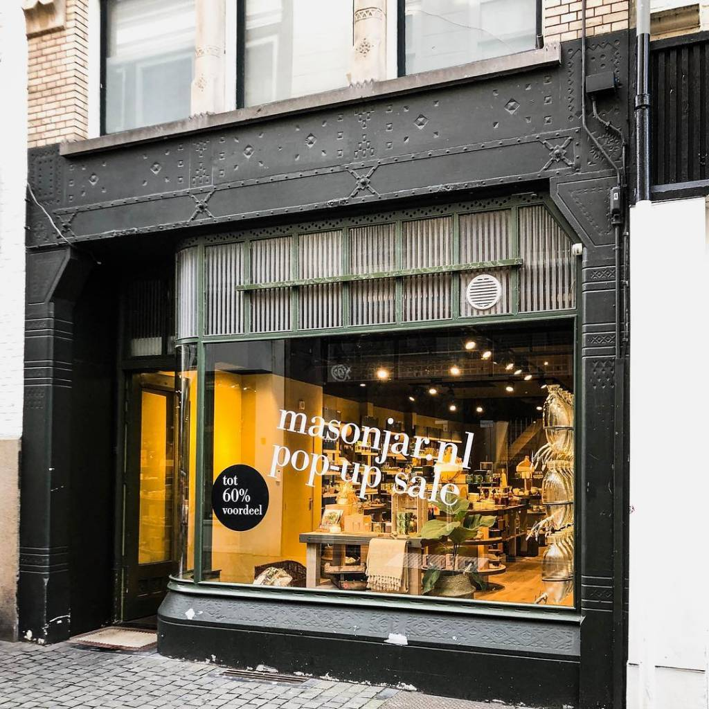 Pop-up store Mason Jar in Breda nu geopend!