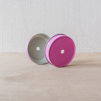 Masonjar regular mouth straw-lid pink