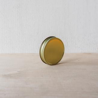 Masonjar Mason Jar regular deksel goud