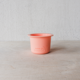 Masonjar Divider  Cup  W/M Coral