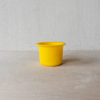 Masonjar Divider  Cup W/M Lemon Yellow