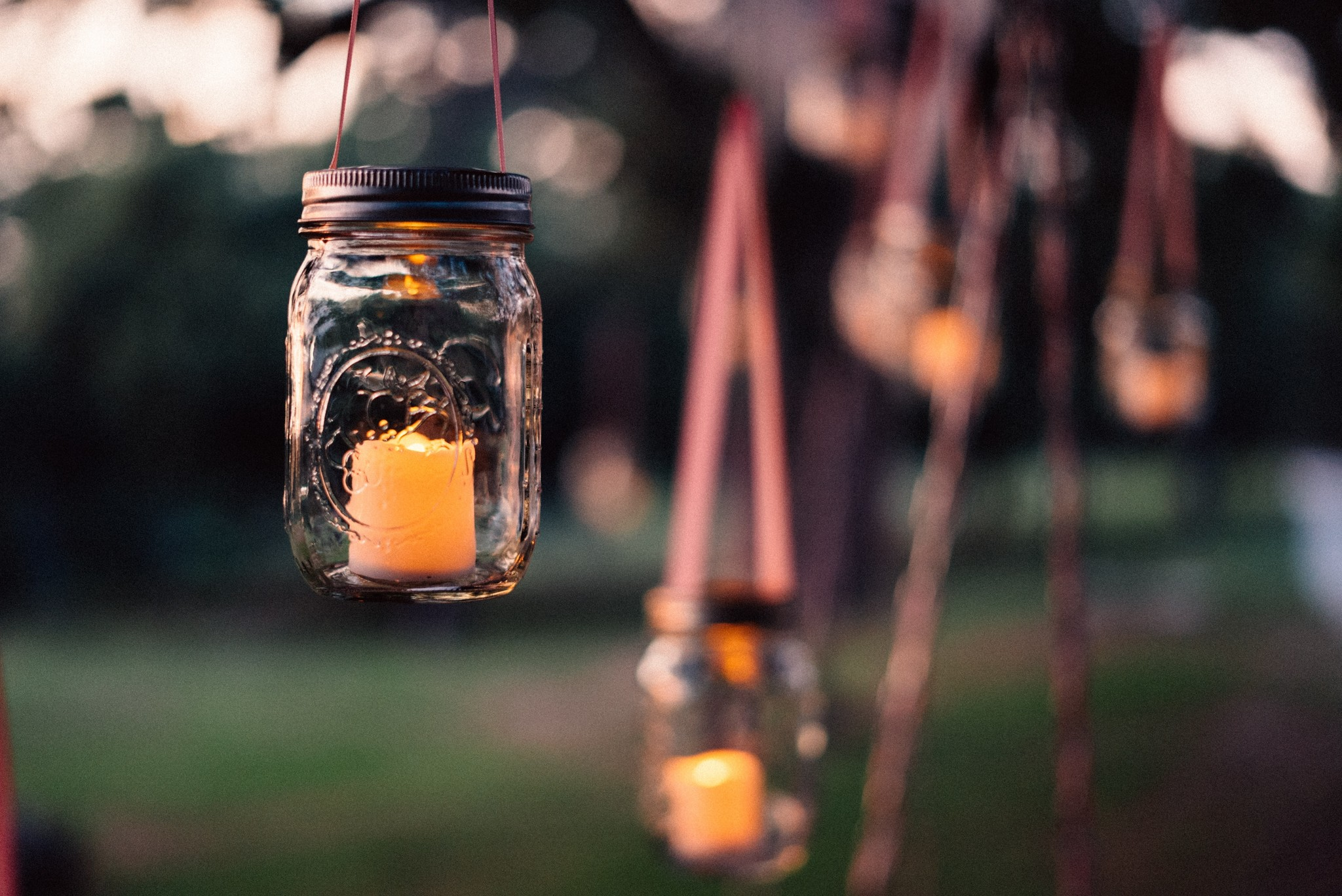 Garden Party with Ball Mason Jar