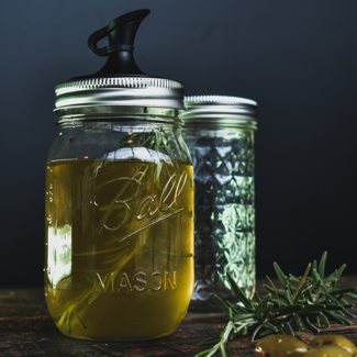 Masonjar Label Gift I love your taste