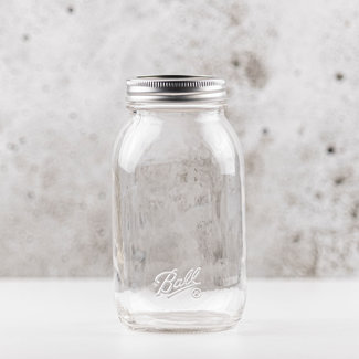 Quart | smooth sided | smalle opening | 950ml | 12stks