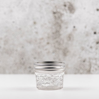 Quilted Crystal Jelly  | smalle opening | 120ml | 4stks
