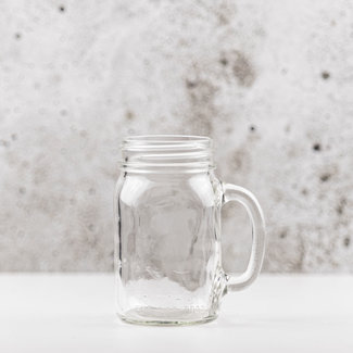 Masonjar Drinkglas |  smalle opening | 490ml | 6stks