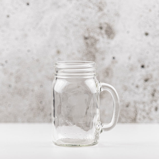Masonjar Drinkglas |  smalle opening | 475ml | 6stks