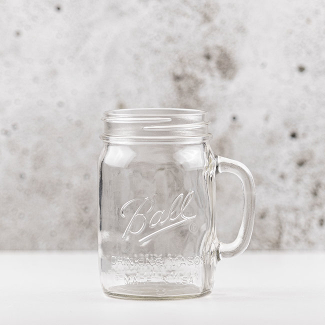 Drinking Jar | wide mouth  | 700ml | 4pcs