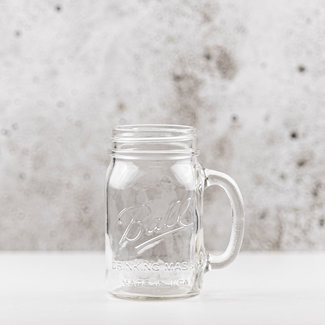 Ball Drinking jar |  regular mouth | 490ml | 4pcs
