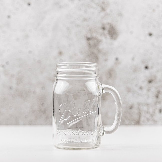 Drinking jar |  regular mouth | 490ml | 4pcs