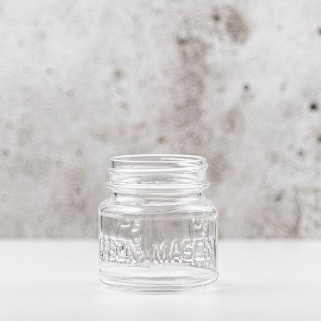 Mason jar Square  | 240ml | 12pcs