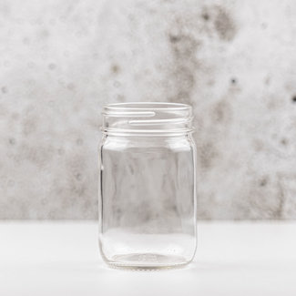 Masonjar Plain masonjar regular (12 oz) | 12 stuks