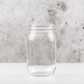 Masonjar Plain masonjar pint regular (16 oz) | 12 stuks