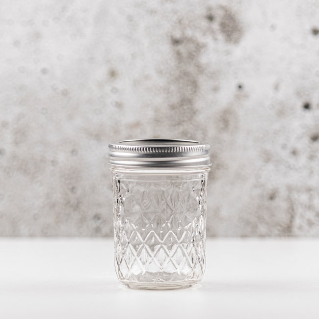 Ball Quilted Crystal Jelly  | smalle opening | 240ml | 12stks