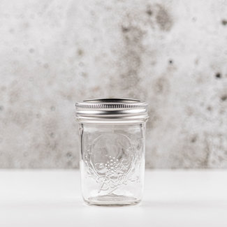 Ball Mason jar half pint regular mouth (8oz) | 12 stuks