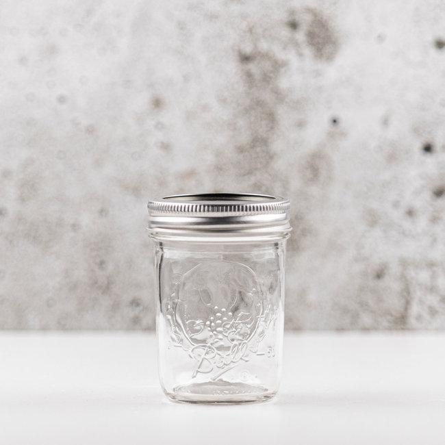 Ball Mason jar half pint regular mouth (8oz) | 12 stuks
