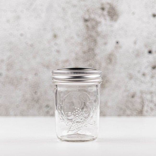 Ball masonjar half pint regular mouth (8oz) | 12 stuks