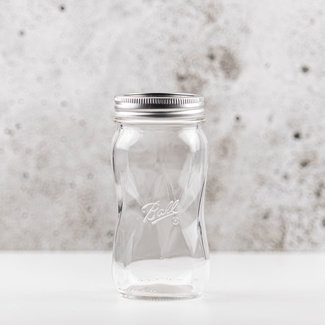 Ball Elite regular mouth pint spiral with lids (16oz) | 4 pieces