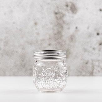 Jam jar| smalle opening | 240ml | 4stks