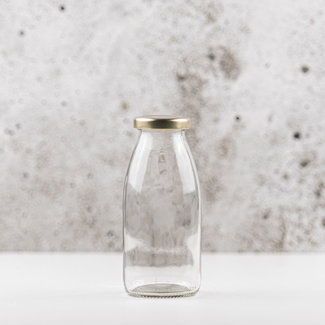 Retro melkflesjes incl dop | 1 stuk