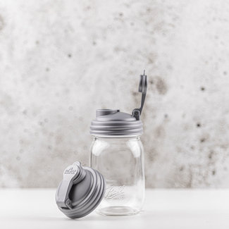 reCAP reCAP Mason Jar - Regular Mouth SILVER 1 pcs