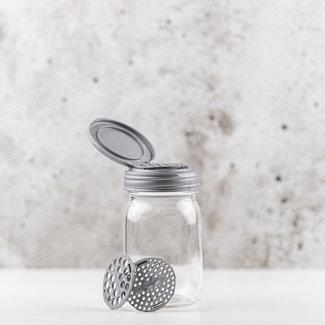 reCAP®  Shaker Inserts for FLIP, Regular Mouth, Silver