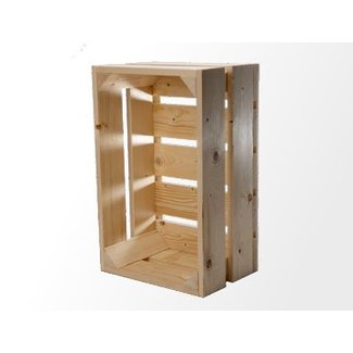 Veilingkist Wooden auction crate