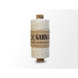 Garn Bäcker-garn Silver-Natural white