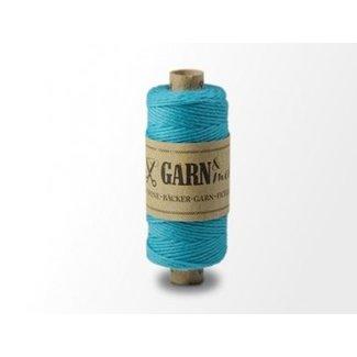 Garn Bäcker-garn turquoise plain