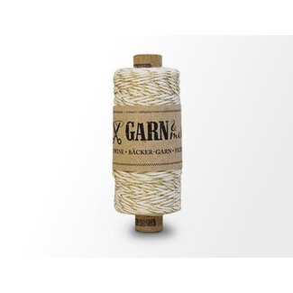 Garn Bäcker-garn Gold - Natural white