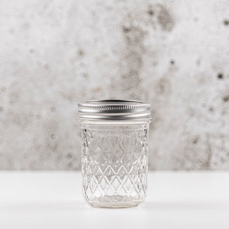 Quilted Crystal Jelly  | smalle opening | 240ml | 6stks.