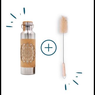 Mandala | set with bottle brush