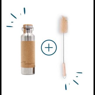 Wave | set with bottle brush