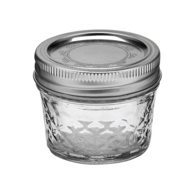Ball Ball quilted crystal jelly regular mouth (4oz) 12 pieces
