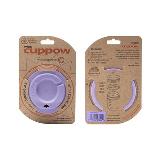 Cuppow wide mouth lavender