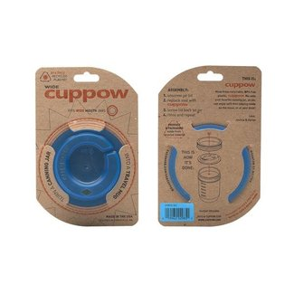 Cuppow wide mouth blue