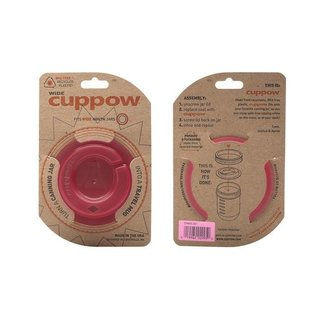 Cuppow wide mouth pink
