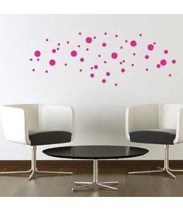 Muursticker stippen / dots